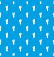 foot left leg pattern seamless blue vector image vector image