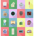 household appliances for kitchen 18 vector image vector image