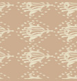 ikat seamless bohemian ethnic beige pattern vector image
