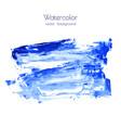 marina navy blue indigo watercolor texture vector image vector image