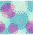 modern seamless flowers pattern background vector image vector image