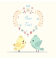 postcard for lovers vector image vector image