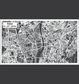 cairo egypt city map in retro style vector image