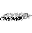 are corporate awards and corporate gifts vector image vector image