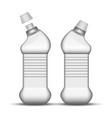 blank universal cleaner plastic bottle vector image vector image
