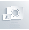 Camera icon background Eps10 vector image