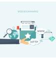 Coding programming Web vector image
