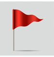 Red Flag vector image vector image