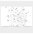 Set of digital backgrounds for communication vector image vector image