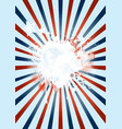 trendy-circus-poster vector image