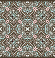 abstract ethnic vintage seamless pattern vector image vector image
