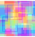 Abstract modern square pastel pixel background vector image vector image
