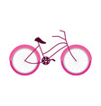 bicycle transport activity recreation icon vector image