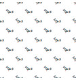 bird pattern seamless vector image