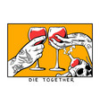 die together vector image