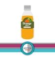 fresh fruit design vector image vector image