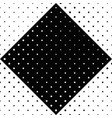 abstract seamless black and white geometrical dot vector image vector image