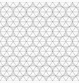 abstract seamless pattern made from linear vector image vector image