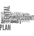 are discount dental plans worth the expense text vector image vector image