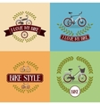 bicycle frame isolated icon design vector image vector image