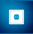 electrical outlet icon power socket vector image