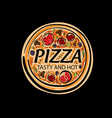 Logo a sketched pizza on