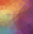 Modern Two-dimensional colorful background vector image vector image