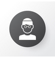 mullah icon symbol premium quality isolated male vector image vector image