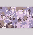 pink brown purple white beige camouflage vector image vector image