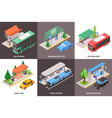 public stop design concept vector image