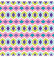 chevron diamond pattern seamless pattern vector image