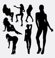 Girl sexy female silhouette