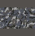 grey camouflage texture graphic background vector image
