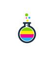 lab paint logo icon design vector image