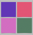 Seamless heart pattern background set