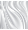 white silk fabric textile background stock vector image