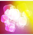 Abstract colorful bubble background vector image vector image