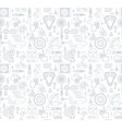 background with gray linear icons of car parts vector image