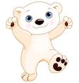 Dancing Polar Bear vector image vector image