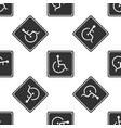 disabled handicap icon wheelchair handicap sign vector image vector image