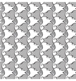 fish abstract pattern background vector image vector image