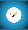 isolated soldering iron flat icon repair vector image