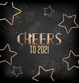 new year holiday season festive golden design on vector image vector image