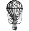 Old Air Ballon vector image vector image