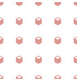 paper icon pattern seamless white background vector image vector image