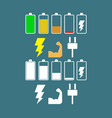 power flat icon vector image