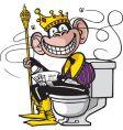 royal flush vector image vector image