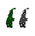 sagaing region administrative divisions republic vector image vector image
