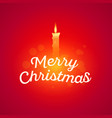 glowing of the holiday in the card vector image