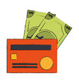 bank credit cards vector image